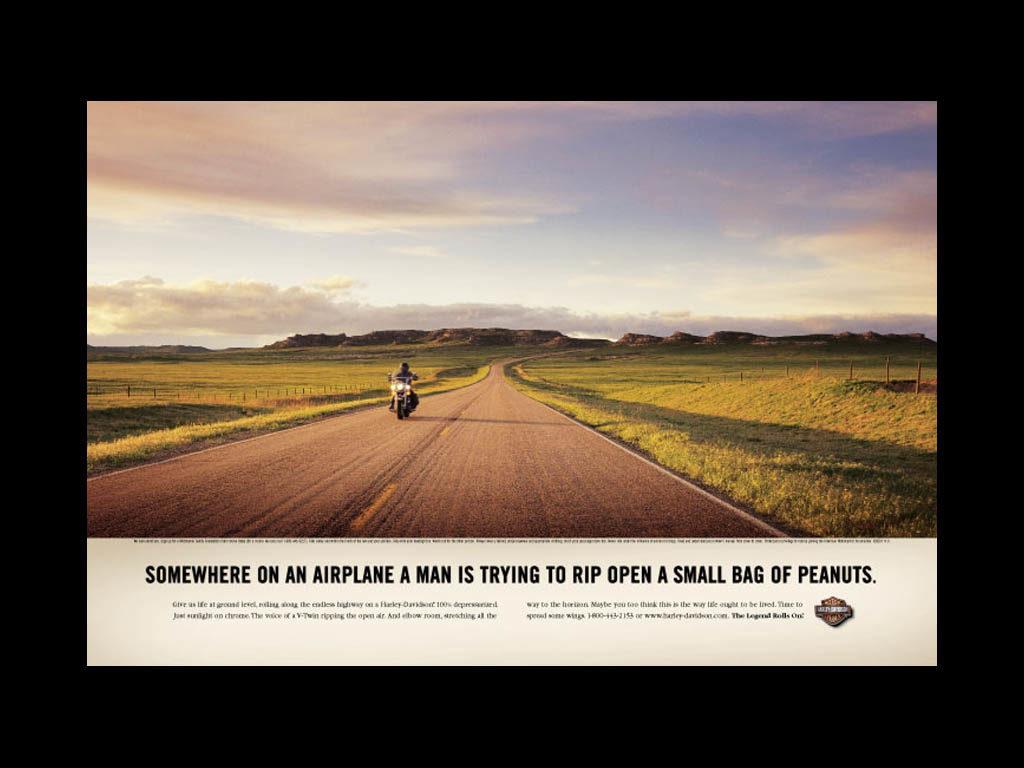 Harley peanuts ad